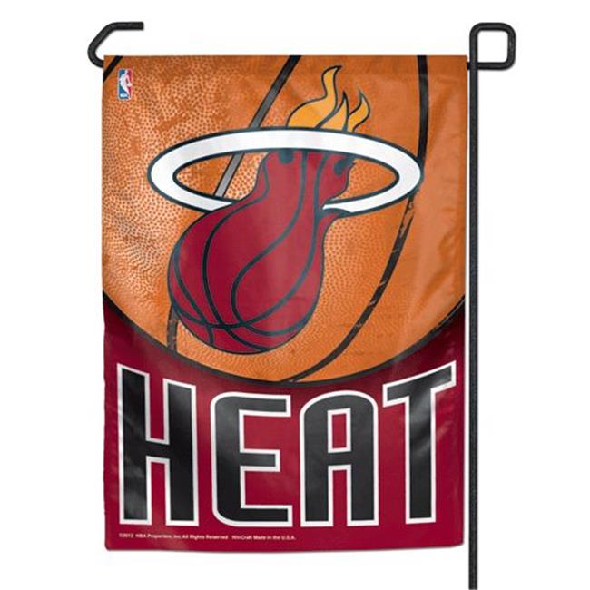 Miami Heat 11''x15'' Garden Flag