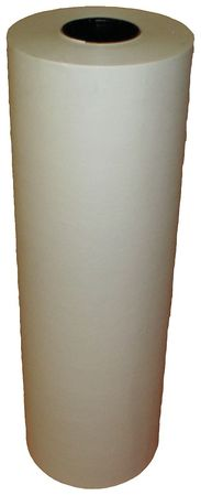 5PGK6 Butcher Paper, 40 lb., White, 18 In. W by VALUE BRAND
