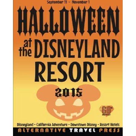 Halloween At The Disneyland Resort 2015
