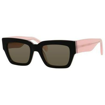 03150323440 Celine - Celine CL 41078 S 6TV70 - Black Opal Pink - Walmart.com