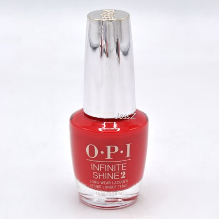 OPI Infinite Shine Fall 2019 Scotland Collection ISLU13 Red Heads Ahead 0.5