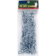 Coastal Pet Products Titan 89031 Assorted Twisted Link Chain Dog Tie Out, 3 mm x 20 feet