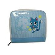 Fairy Tail Happy Blue Coin Purse