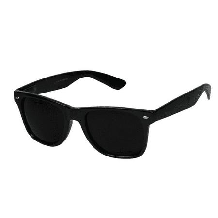 Skylark - MEN Sunglasses Classic Style Flat Black Frame ...