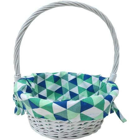 Large White Basket