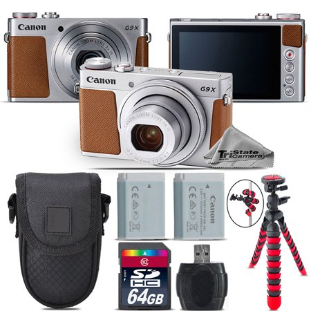 Canon PowerShot G9 X Mark II Digital DIGIC 7 Camera + Extra Battery - 64GB Kit