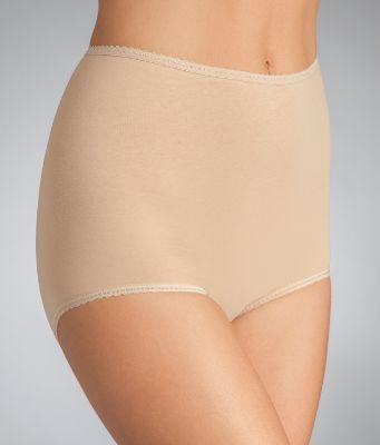Bali Womens Cool Cotton Skamp Brief Panties