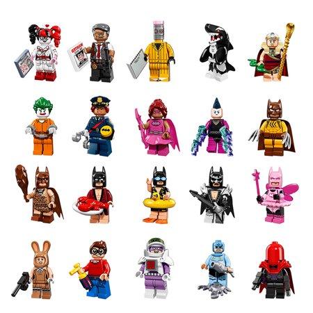 Complete Set Of 20 Minifigures Fit Lego 71017 Batman Movie Series 20 Minifigures Building Toys