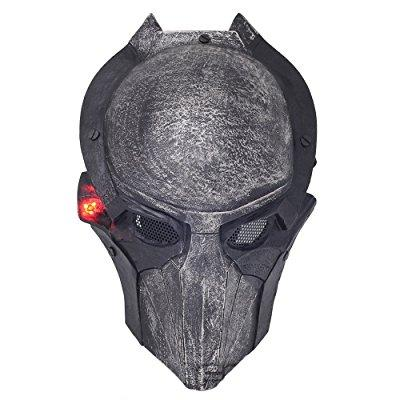 fma New wire mesh alien vs predator avp falconer full face protection paintball mask luminous version l800 by