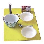 Dollhouse Soup W/Pan, Bowls & Spoons