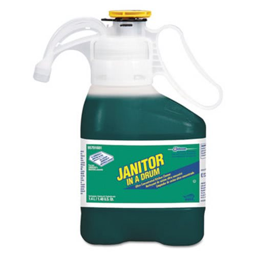 Diversey Janitor In A Drum Kitchen Cleaner, 1.4L Bottle (DVO95791681EA)