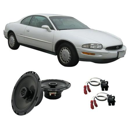 - Fits Buick Riviera 1996-1999 Front Door Replacement Harmony HA-R65 Speakers New