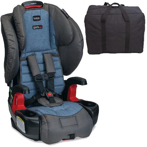 Britax - Pioneer G1 1 Harness-2-Booster Car Seat with Travel Bag - Pacifica