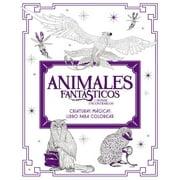 Animales Fantsticos Y Dnde Encontrarlos: Criaturas Mgicas. Libro Para Colorea (Paperback)