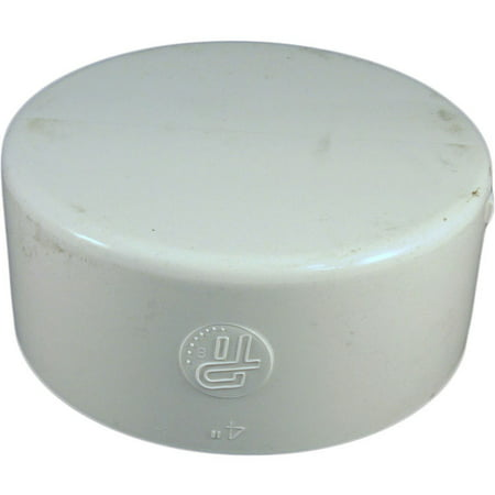 4 Inch Pvc Sewer  Amp  Drain Cap Fitting