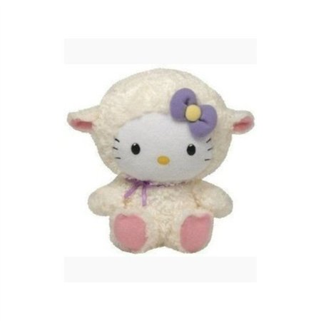 Ty Beanie Buddies Hello Kitty Lamb Suit - Hello Kitty Beanie