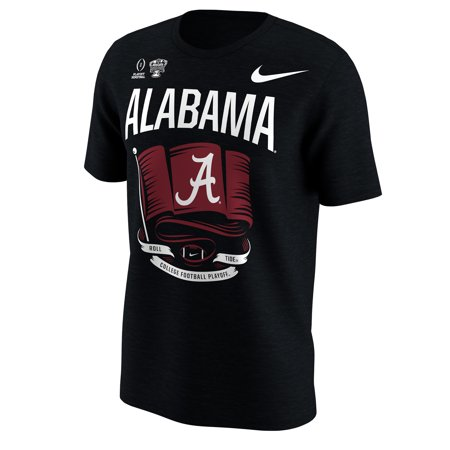 Alabama Crimson Tide Nike College Football Playoff 2018 Sugar Bowl Bound Flag T-Shirt - Black - M ()