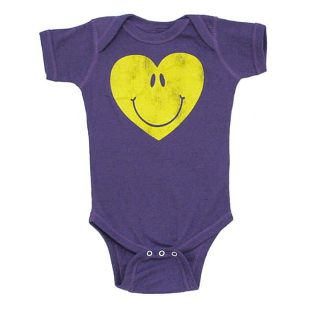 Love To Smile Vintage Style Life Clothing Baby Creeper Romper - Life Size Creeper