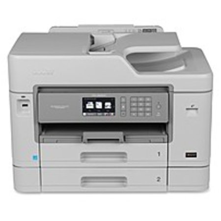 Refurbished Brother Business Smart MFC-J5930DW Inkjet Multifunction Printer - Color - Desktop - Duplex Printing - Copier/Fax/Printer/Scanner - 35 ppm Mono/27 ppm Color Print - 4800 x 1200 dpi Print