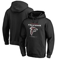 Atlanta Falcons NFL Pro Line by Fanatics Branded Team Lockup Pullover Hoodie - Black