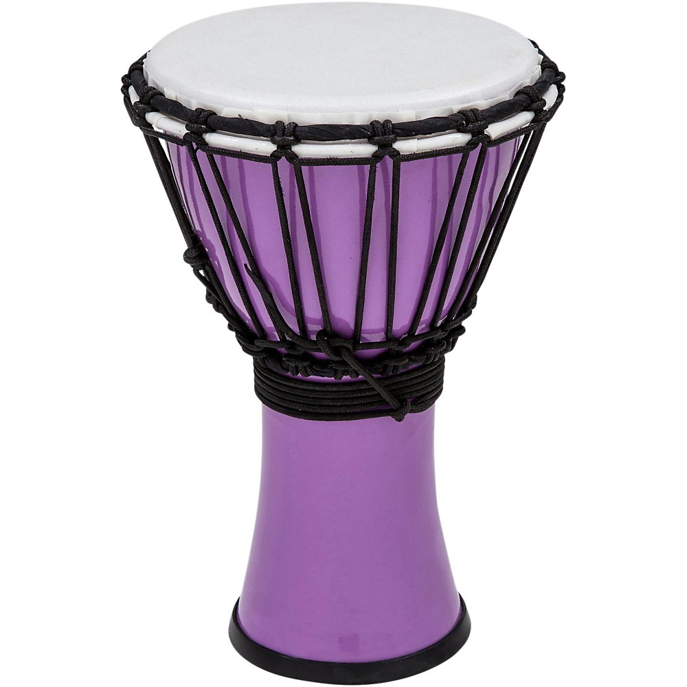 Toca Freestyle ColorSound Djembe Pastel Purple 7 in. by Toca