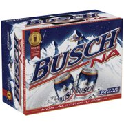Busch Non-Alcoholic Beer, 12 pack, 12 fl oz