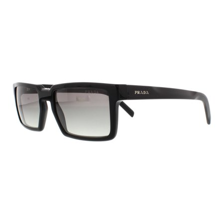 19b499b157 PRADA - PRADA Sunglasses PR 03SS 1AB0A7 Black 54MM - Walmart.com