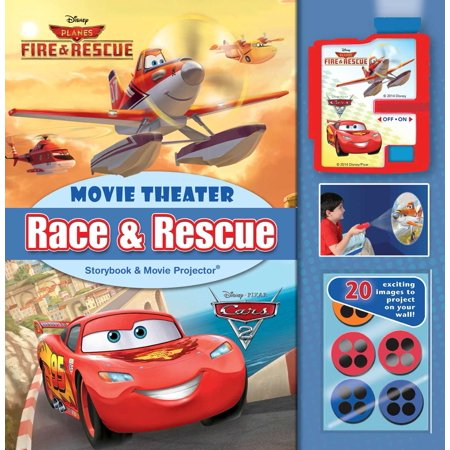 Disney Race & Rescue: Movie Theater Storybook & Movie Projector - Filmes De Halloween Da Disney