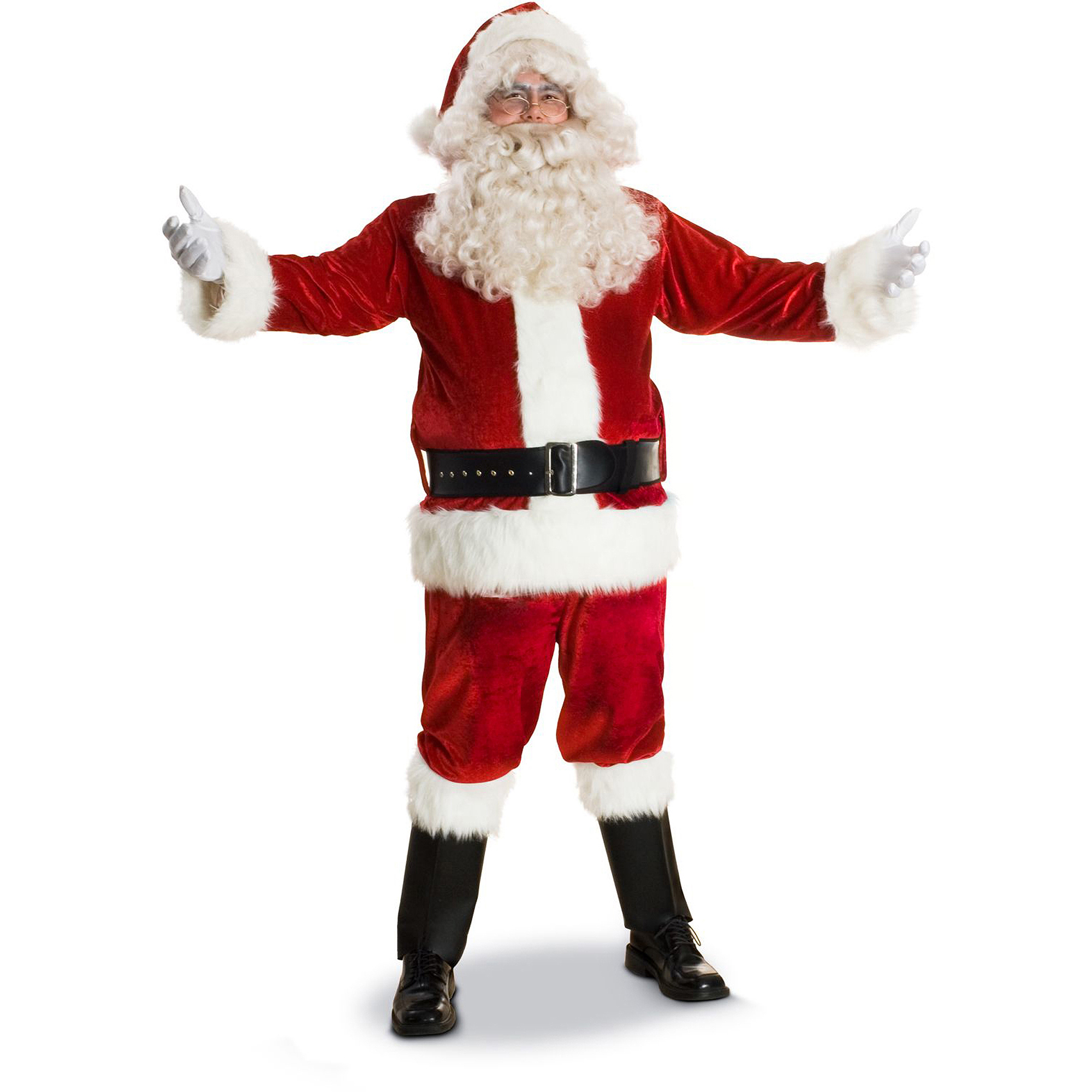 Sunnywood Deluxe Santa Claus Suit Adult Costume