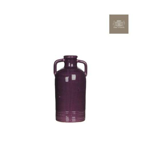 Modus Lifestyle's Sil Vase 4.25X4X8' Purple by