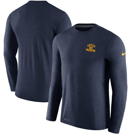 new product 39c13 316b2 Green Bay Packers Nike Sideline Coaches Retro Long Sleeve T ...