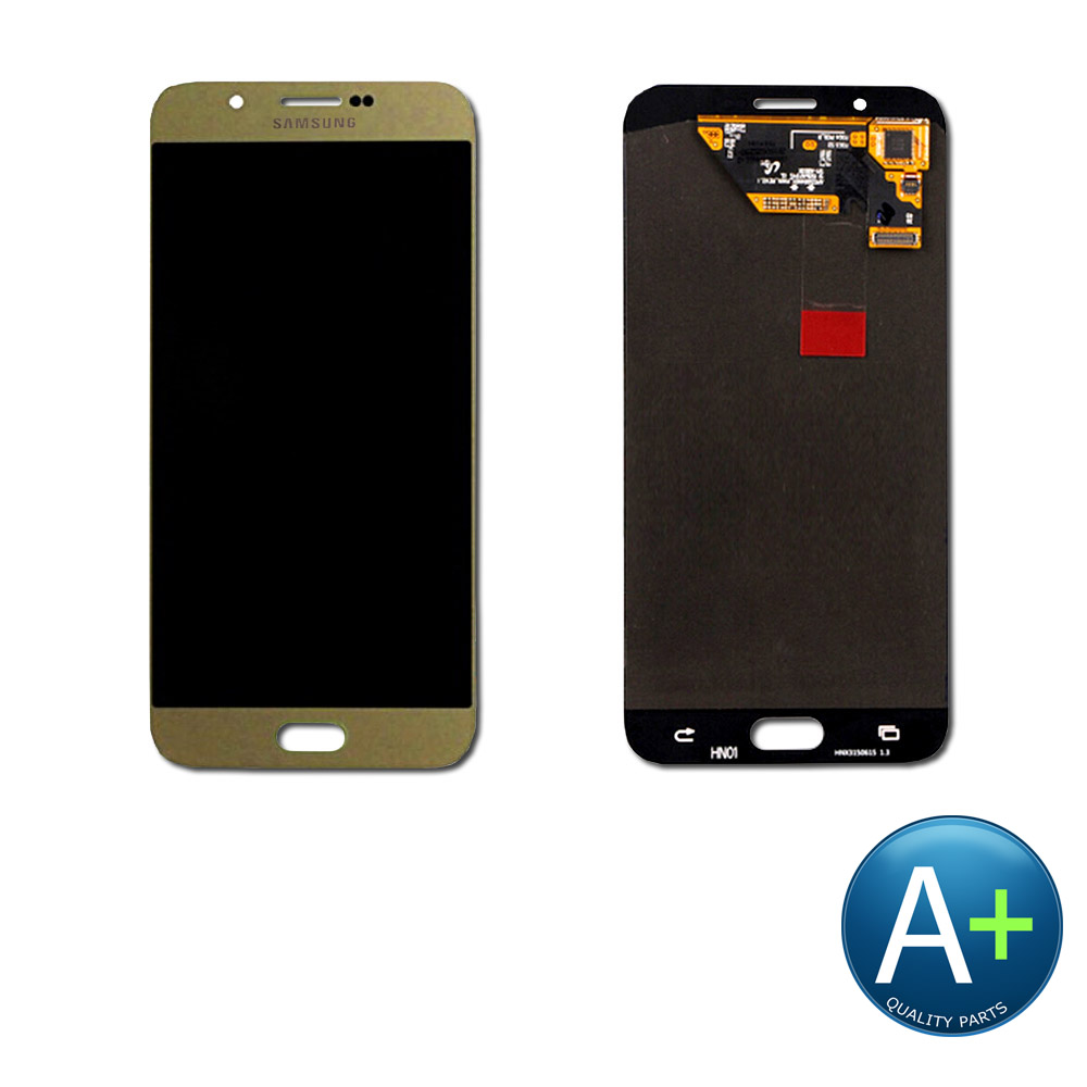 "Touch Screen Digitizer and AMOLED Front Display Assembly for Champagne Gold Samsung Galaxy A8 SM-A800 (2015) (5.7"")"
