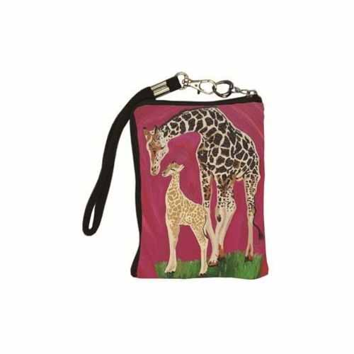 Full Circle Tech Wristlet by Salvador Kitti - SK-Giraffe-TW