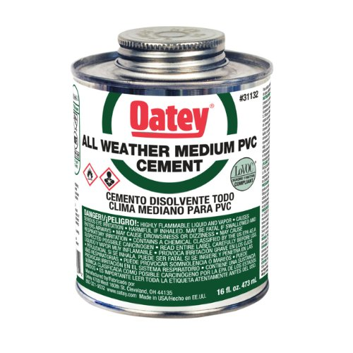 1 Quart PVC Clear Cement
