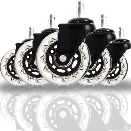 set of 5 2 5 rollerblade office chair replacement