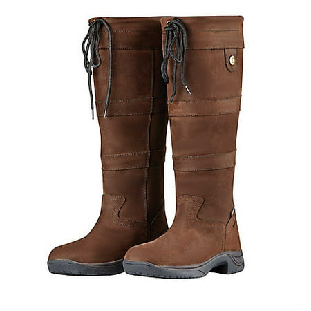 - Dublin Ladies River Boots III 10 XW Chocolate
