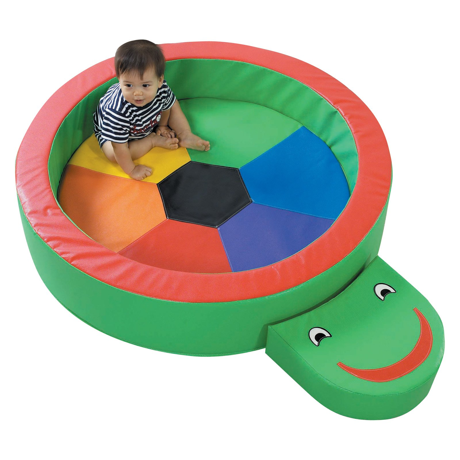 Children's Factory Turtle Hollow Activity Mat