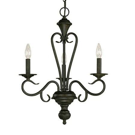 Millennium Lighting Devonshire 3-Light Candle-Style Chandelier