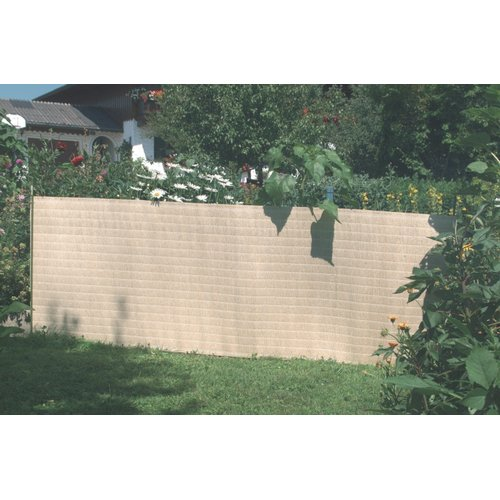 Boen Privacy Fence Netting Wheat Beige 6' x 50', w  Reinforced Grommets by Supplier Generic