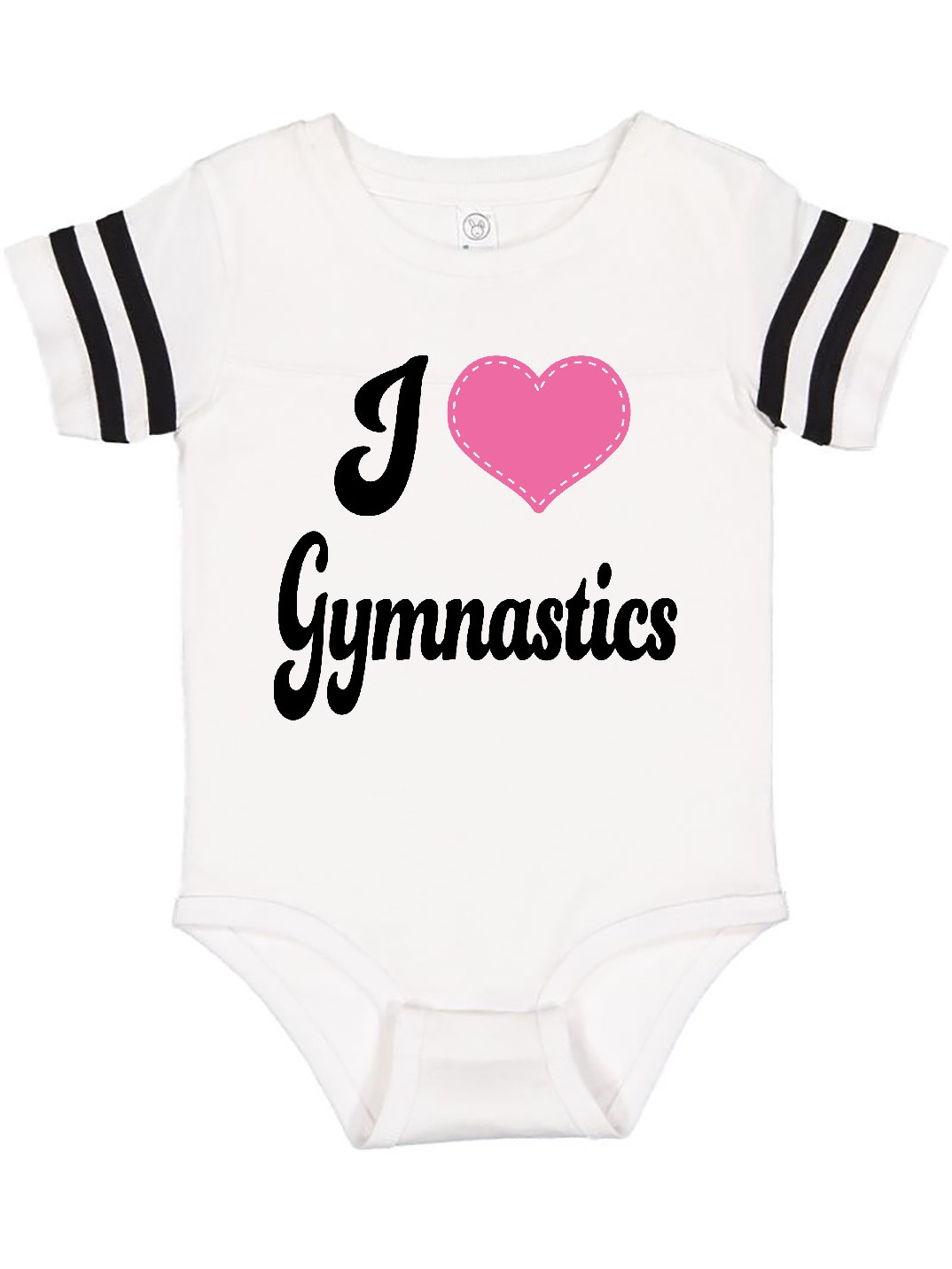 inktastic Gymnastics Love is Beaming Infant Creeper