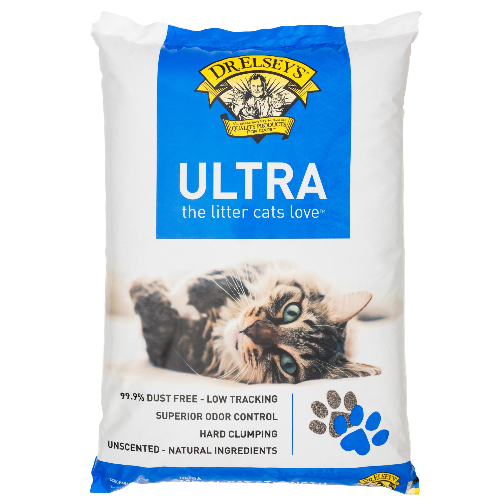 Precious Cat Ultra Premium Clumping Cat Litter, 40 Lb.
