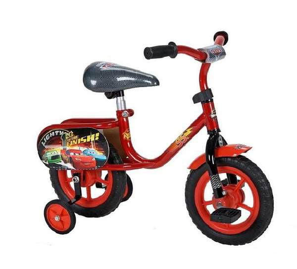 Huffy Disney Pixar Cars Lightning Mcqueen Toddler Bike 10 Inch