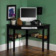 Alexander Corner Computer Desk-Black