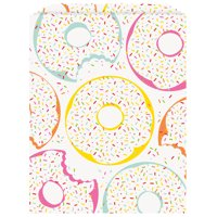 """Donut Party Paper Goodie Bags, 8.75"""" x 6.5"""", 8ct"""