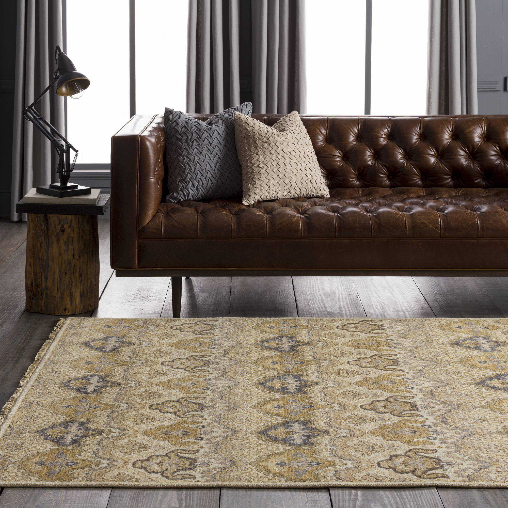 Art of Knot Irene 9' x 13' Rectangular Area Rug