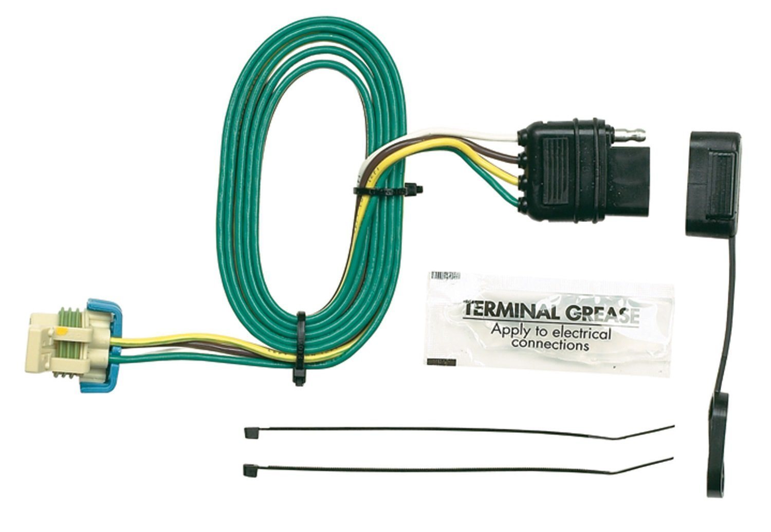 43855 plug in simple vehicle to trailer wiring connector ebay