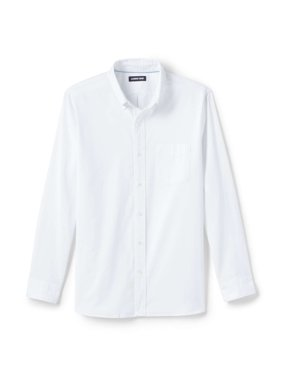 Men's Comfort-First Traditional Long Sleeve Stretch Oxford