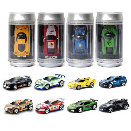 Coke Can Mini RC Radio Remote Control Micro Racing Car Hobby kids Gift