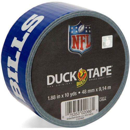 "Duck Brand Duct Tape, NFL Duck Tape, 1.88"" x 10 yard, Buffalo Bills"