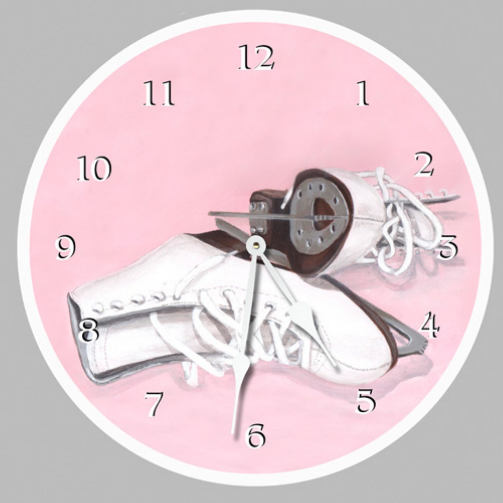 Lexington Studios Ice Skates Wall Clock